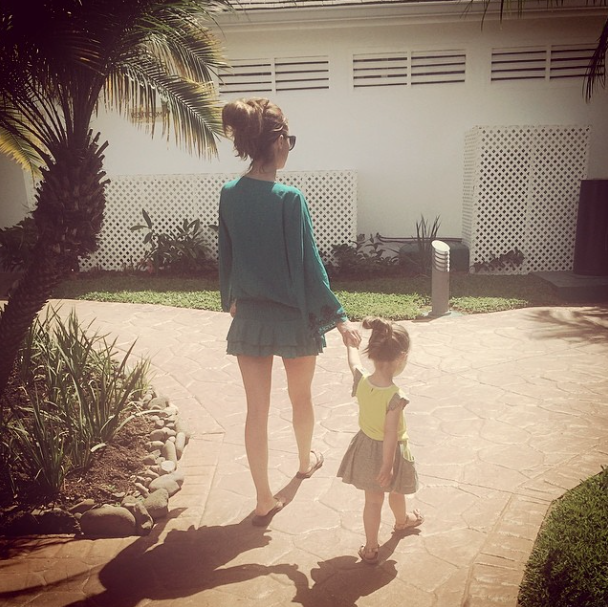 Una Healy kid Instagram