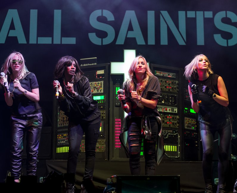 All Saints V Festival 2014