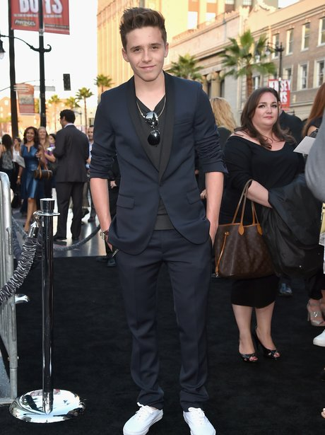 Brooklyn Beckham attends film premium with Chloe