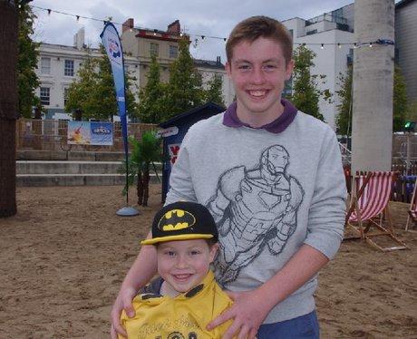 Cardiff Bay Beach 21st August 2014