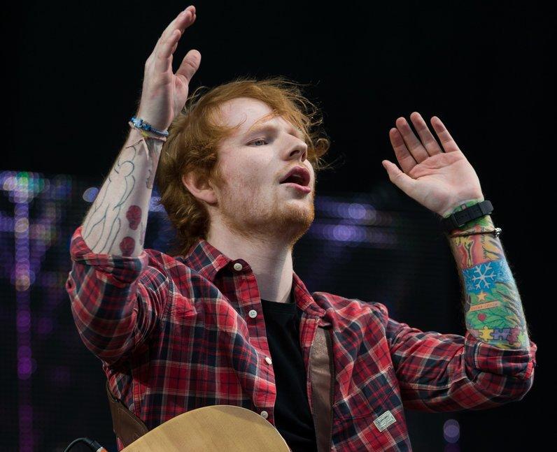 Ed Sheeran V Festival 2014