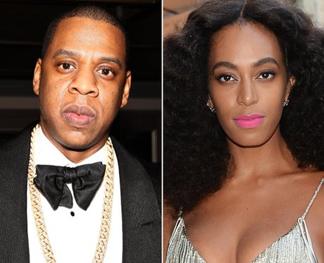 Jay Z and Solange Knowles