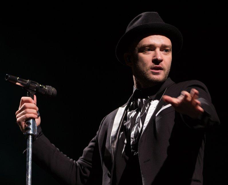 Justin Timberlake V Festival 2014