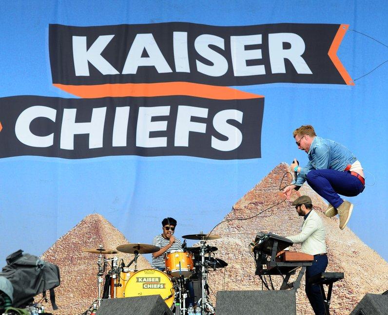 Kaiser Chiefs V Festival 2014