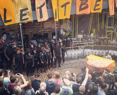 Labrinth performs new single 'let It Be' in Camden