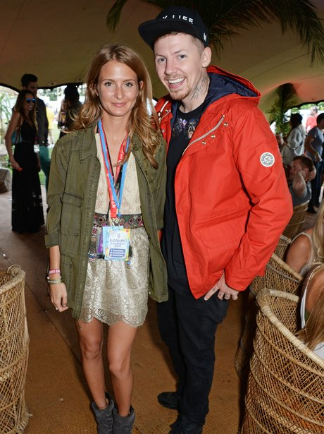 Millie Mackintosh and Professor Green V Festival