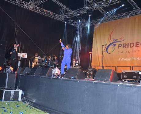 Misha B at Pride Cymru 2014