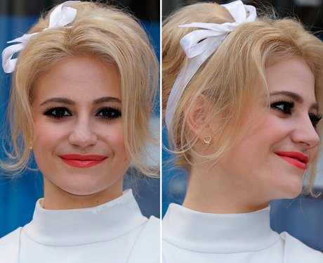 Pixie Lott Hair Up