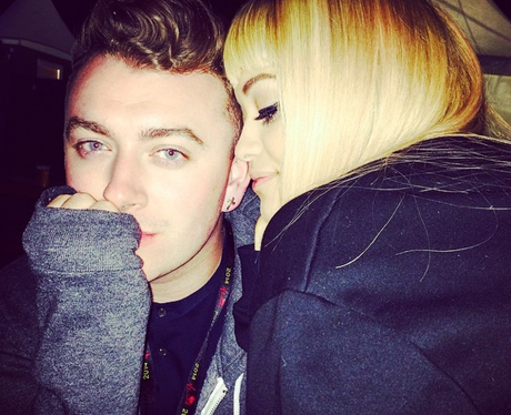 Rita Ora and Sam Smith