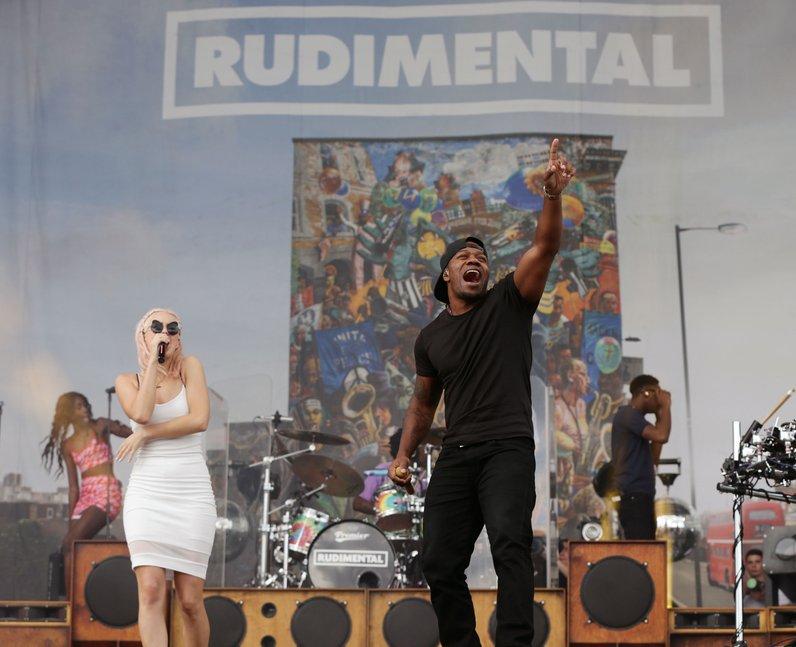 Rudimental V Festival 2014