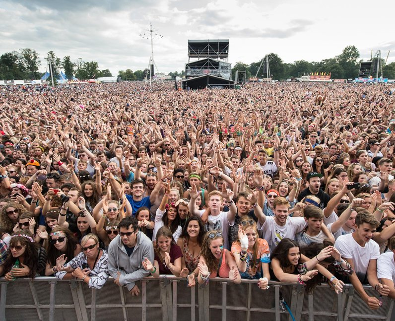 V Festival 2014 Crowd