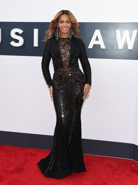 Beyonce MTV VMA 2014 Red Carpet