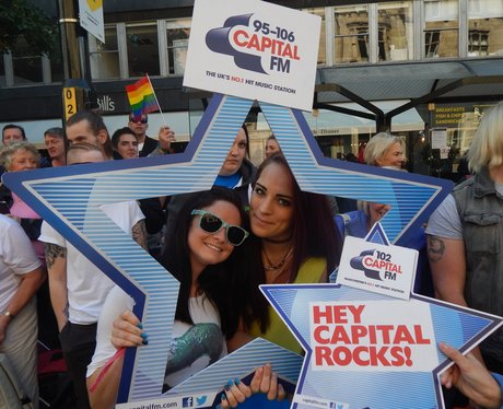Capital FM at Manchester Pride