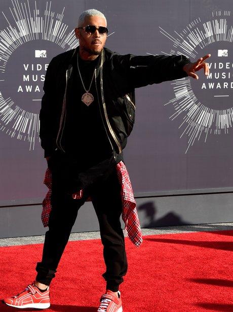 Chris Brown MTV VMAs 2014