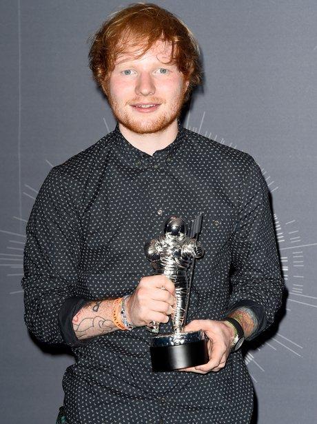 Ed Sheeran VMA Best Male Video 2014