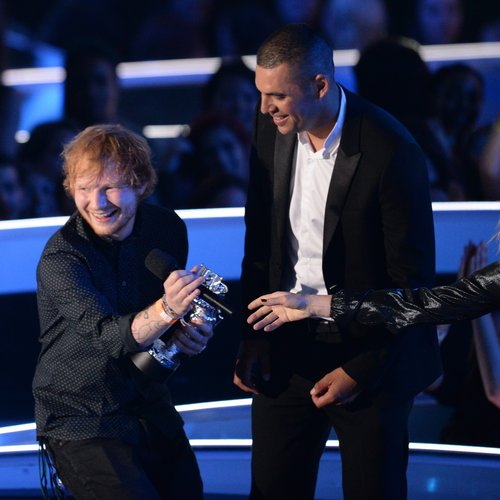 Ed Sheeran MTV VMA 2014