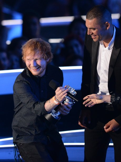 Ed Sheeran wins Best Male Video at MTV VMA 2014