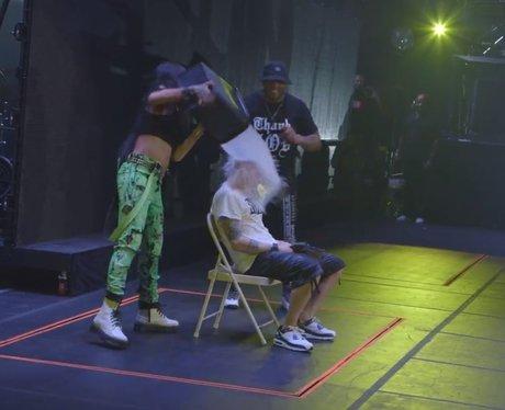 Eminem and Rihanna ice bucket challenge