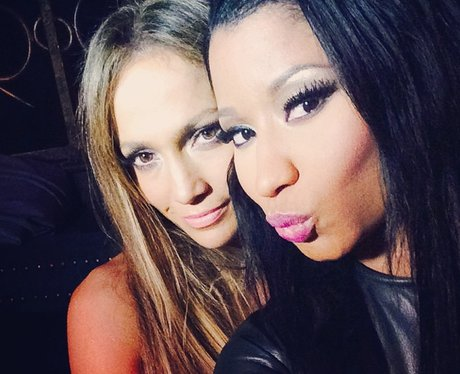 Jennifer Lopez and Nicki Minaj Instagram