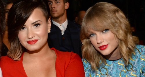 Bffs For Life Demi Lovato Is Backing Taylor Swift All The Way Capital