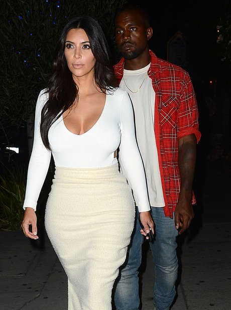 Kim and Kanye Date Night