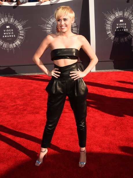 Miley Cyrus MTV VMAs 2014 Red Carpet