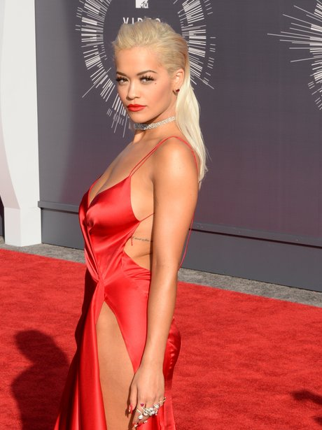 Rita Ora MTV VMAs 2014 Red Carpet