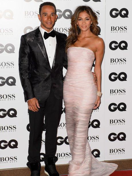 Lewis Hamilton and Nicole Scherzinger GQ