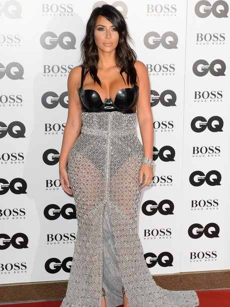 Kim Kardashian at the GQ Awards 2014