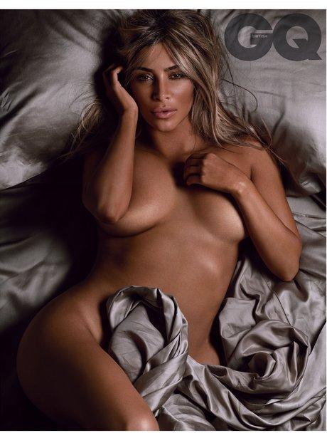 Kim Kardashian GQ Magazine 2014