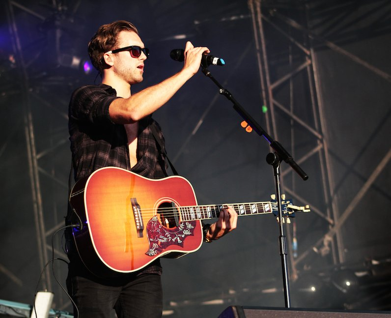 Lawson on Stage at Fusion Festival
