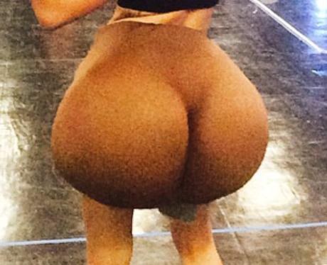 Miley Cyrus Fake Bottom