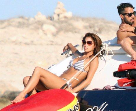 Nicole Scherzinger on holiday in Spain