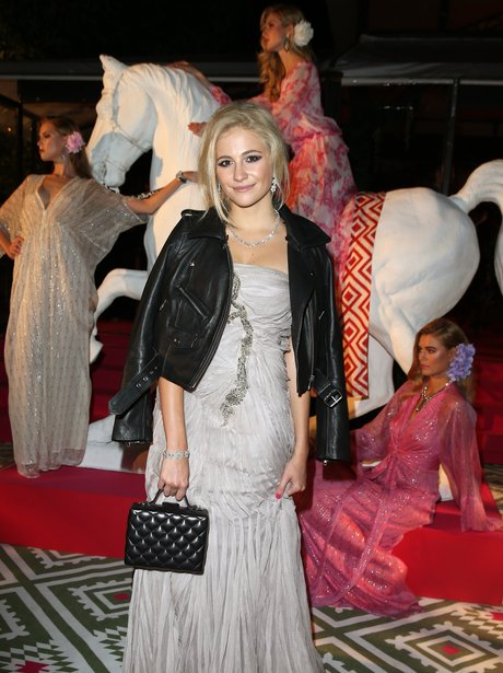 Pixie Lott at the Elton John AIDS Foundation