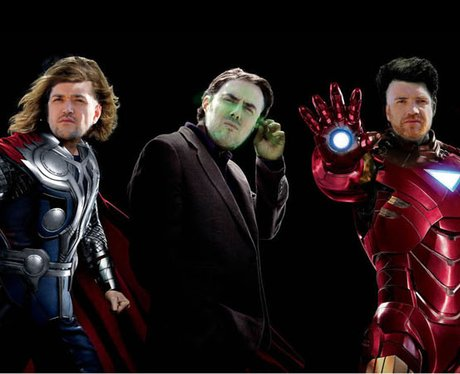 Popstar Superheroes