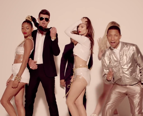 'Blurred Lines' Video