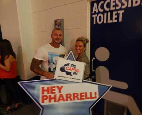 Capital FM at Pharrell Williams