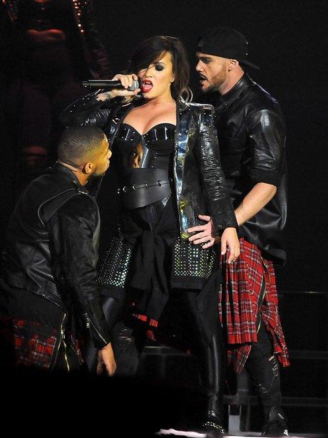 Demi Lovato on performs tour
