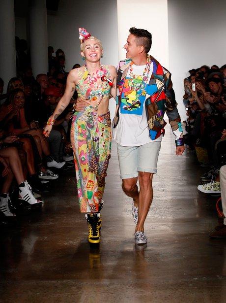 Miley Cyrus New Yorl Fashion Week 2014