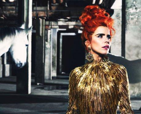 Paloma Faith with red hair