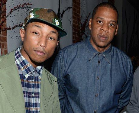 Pharrell and Jay Z