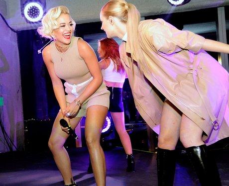 Rita Ora and Iggy Azalea Calvin Klein Event