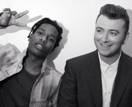 Sam Smith And A$AP Rocky