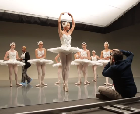Taylor Swift Filming in Ballerina Outfit