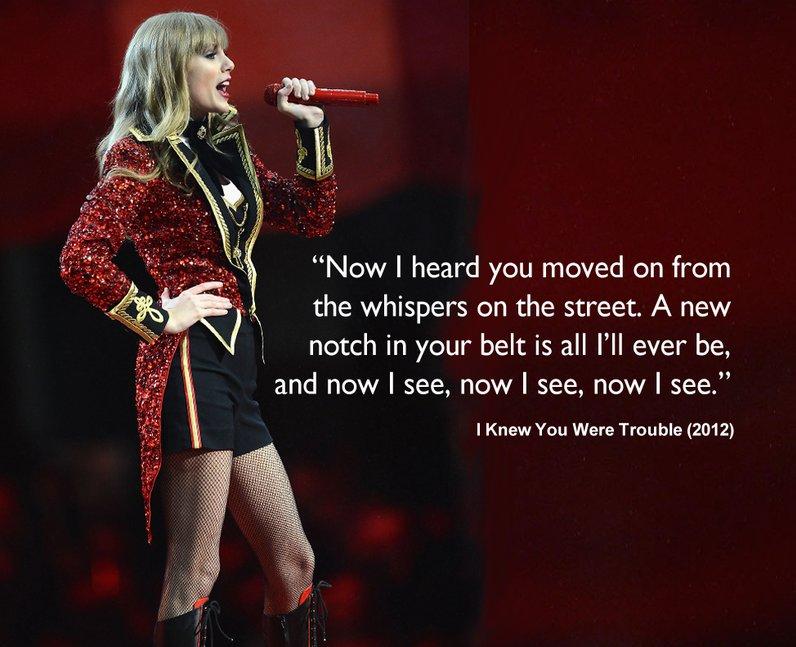 Lyric new song lyrics : Taylor Swift: When Her Song Lyrics Reflect Real Life - Capital