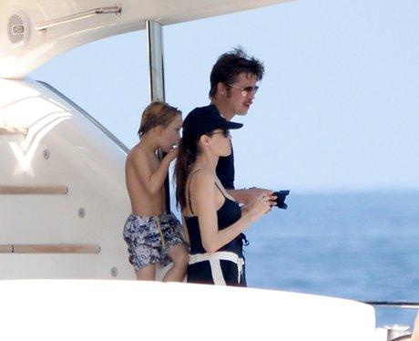 Angelina and Brad Pitt Honeymoon