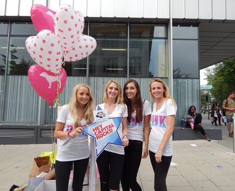 Capital FM at Manchester University Freshers Fair