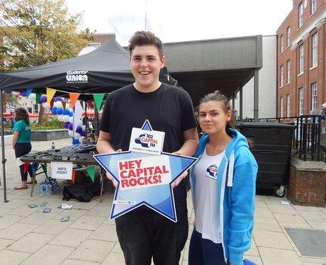 Capital FM at Manchester University Freshers Fair
