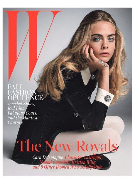 Cara Delevingne W Magazine 2014
