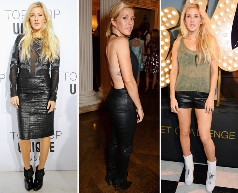 Ellie Goulding Fashion Week 2014